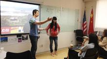 慧锐出国留学培训 外教英语小班课程受学生大加追捧